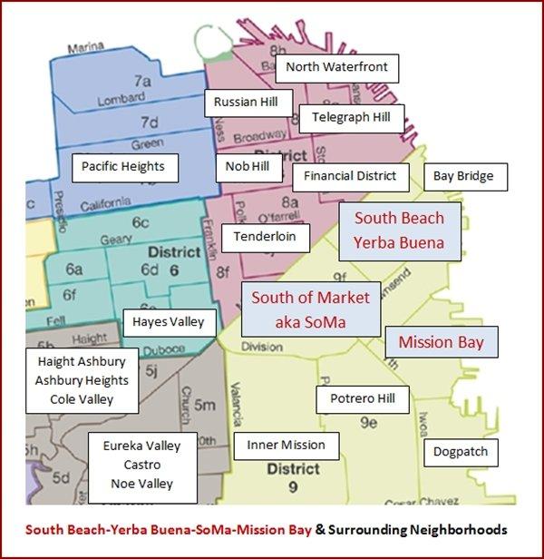 SoMa-South Beach-Yerba Buena-Mission Bay