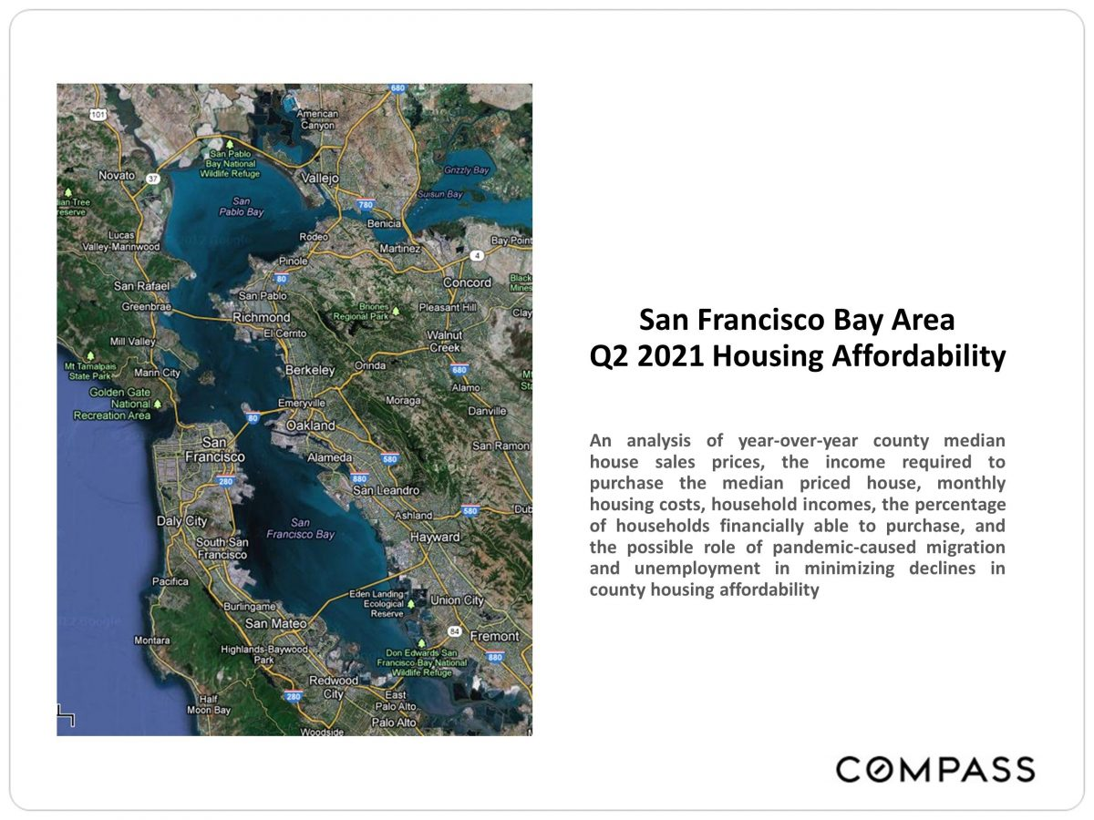 Bay Area Housing Affordability, Q2 2021